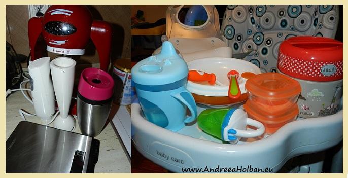 Ustensile utile in bucataria bebelusilor | Andreea Holban