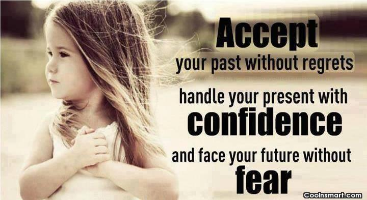 regrete frica incredere prezent trecut viitor