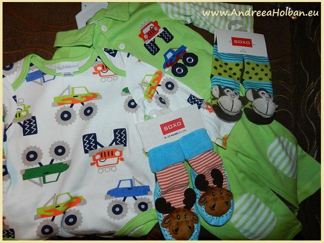 pijama si sosete bebe superbebeshop