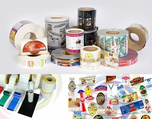 etichete stikere label print