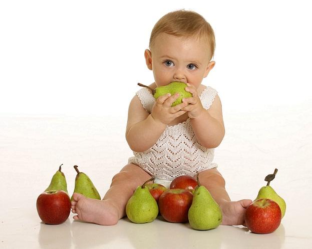 schema diversificare bebe fructe