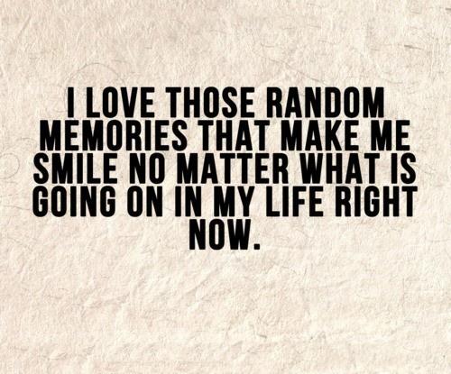 amintiri care ne fac fericiti