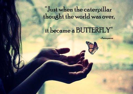 nu stii niciodata cand incepe de fapt marea frumusete a vietii