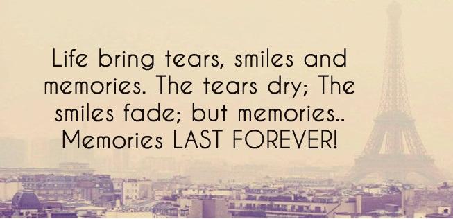 amintirile raman pentru totdeauna