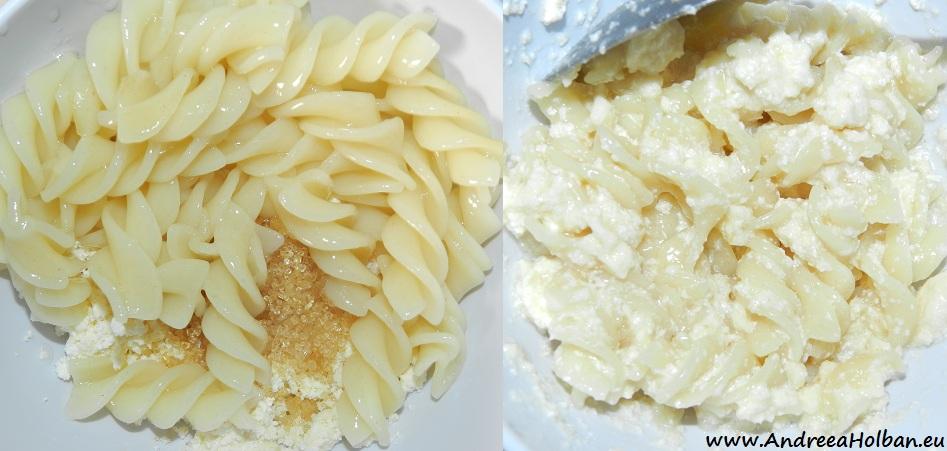Paste aromate cu branza si miere (dupa 12 luni)