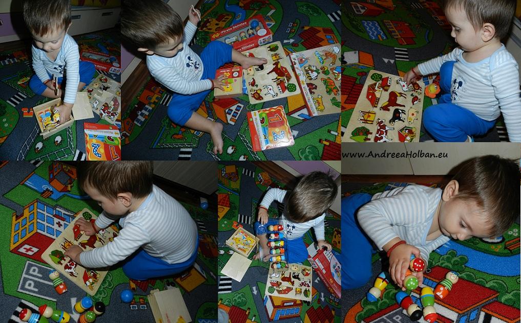 jocuri puzzle bebe david 3pitici.ro