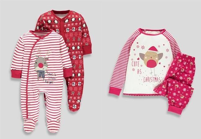 pijamale craciun bebe magazin online anglia