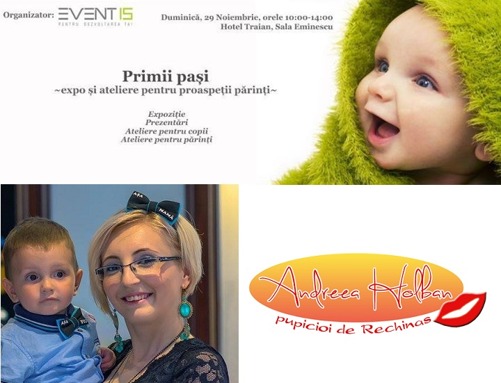 Eventis Concept Primii pasi - expo si ateliere pentru proaspetii parinti Iasi