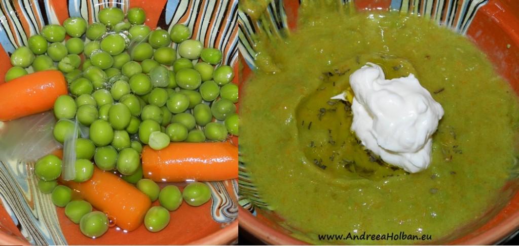 Supa crema de mazare (dupa 8 luni)