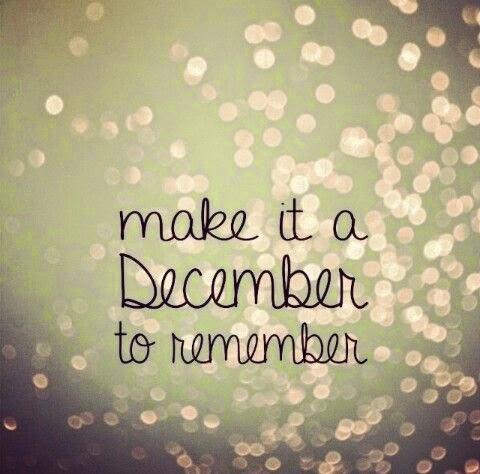 un decembrie care sa conteze