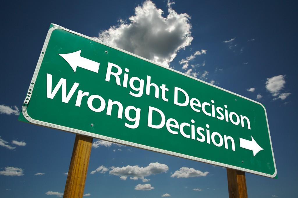 decizie corecta