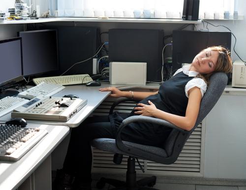 graviduta la birou
