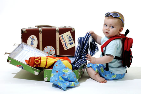 bagaje bebe vacanta mare