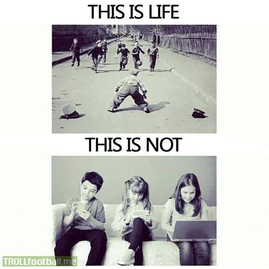 copilaria noastra vs copilaria lor