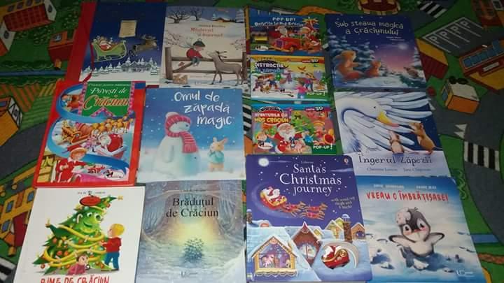 Carti de iarna carti de craciun copii biblioteca holbaneilor
