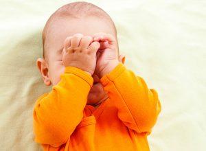 secretie ochi nas infundat bebe