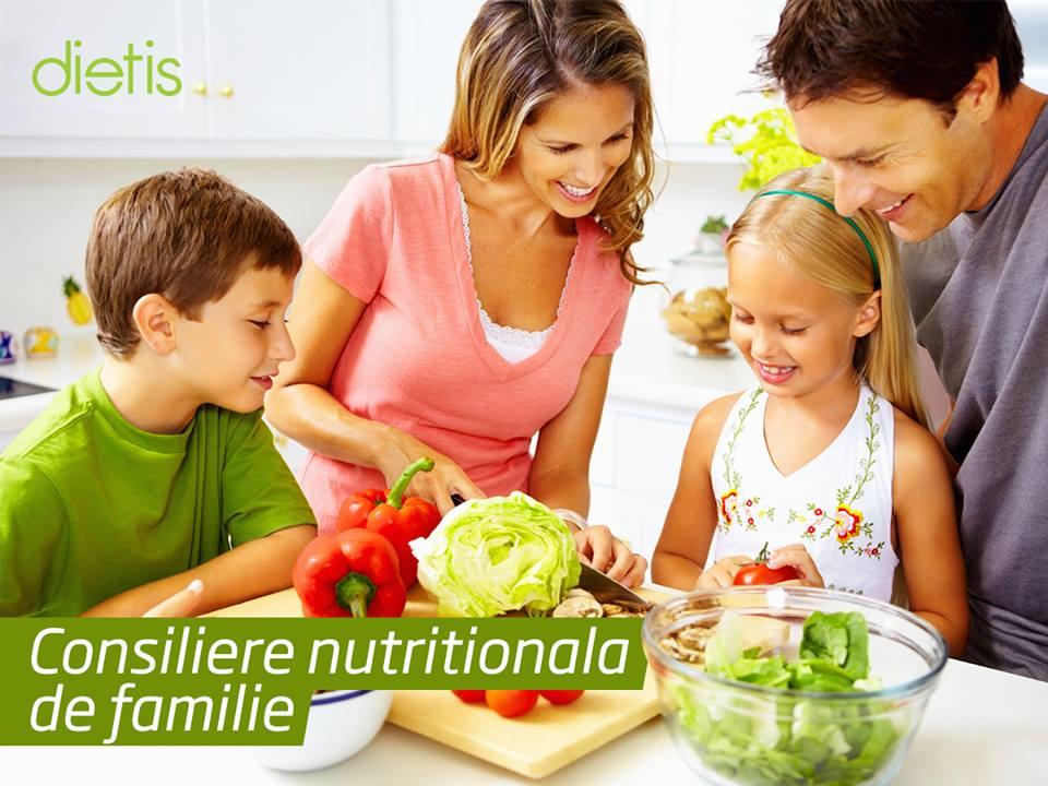 consiliere nutritionala de familie dietis iasi