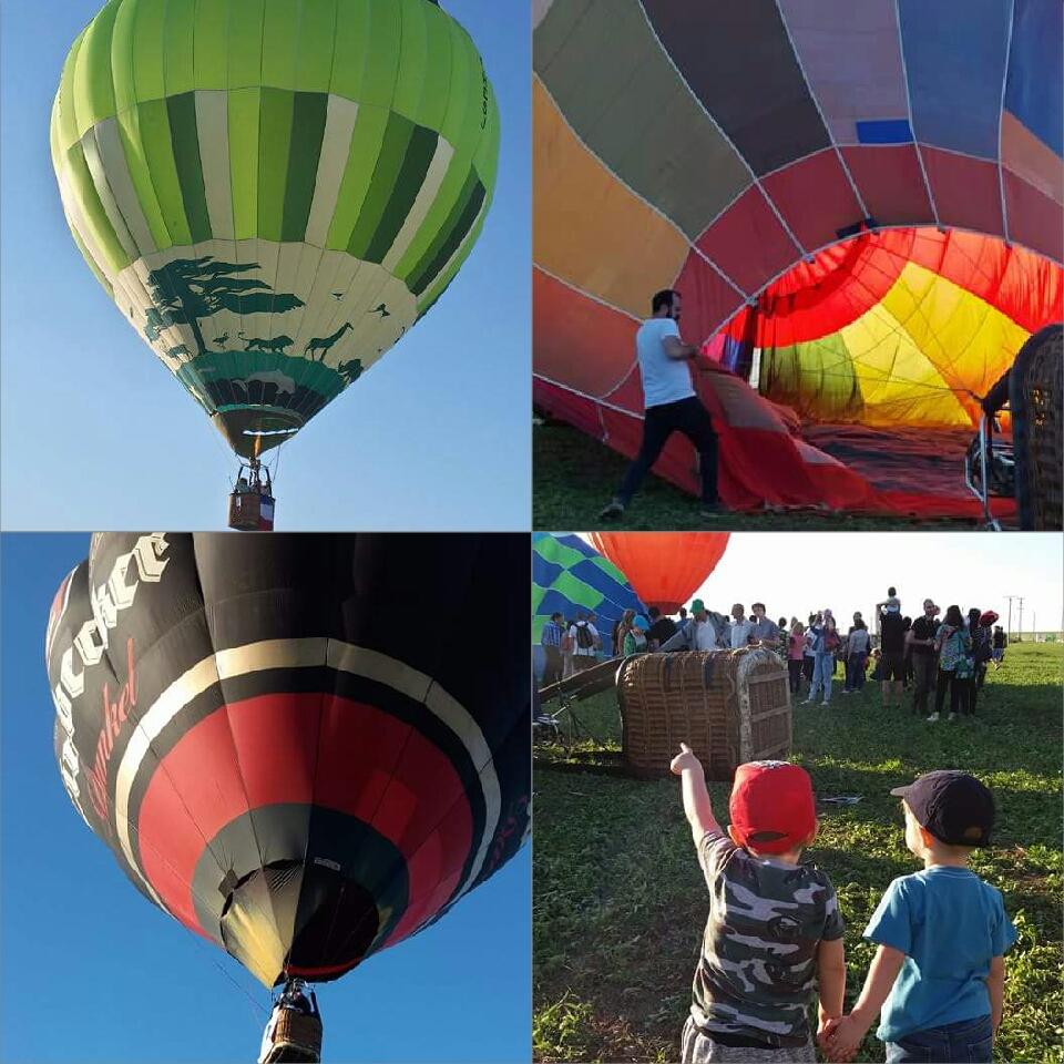 Magia baloanelor cu aer cald