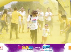 the color run galben