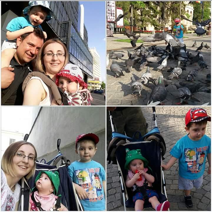 Plimbari zilnice cu familia