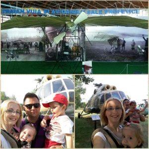 Holbanei la muzeul aviatiei romane