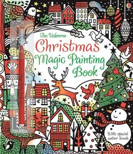 """Christmas magic painting book"
