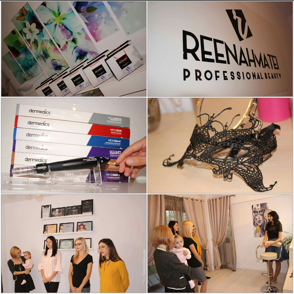 Deschidere salon coametica ReenahMatei Beauty Iasi Valea Lupului