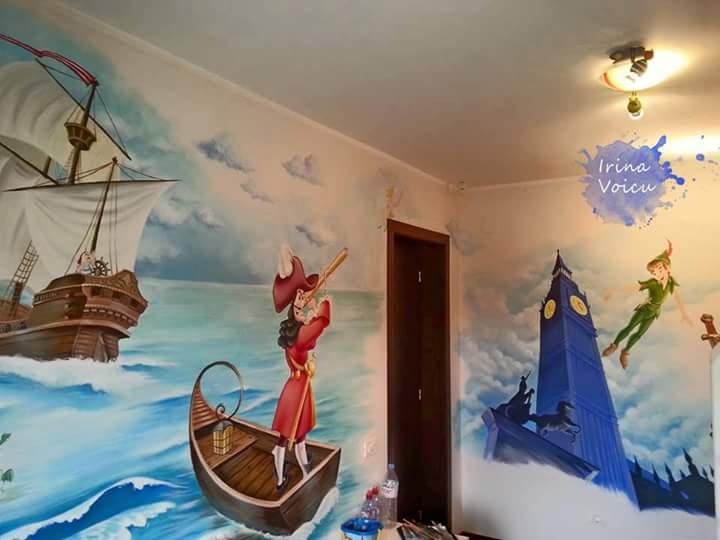 Camere copii pictate irina voicu