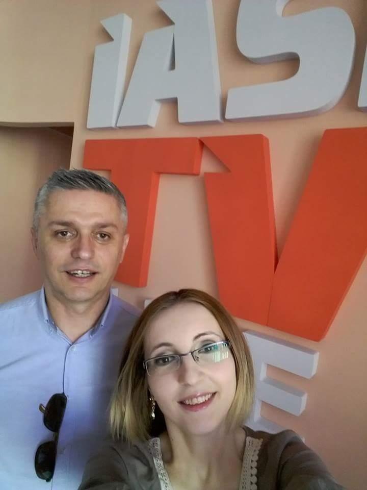 Andreea Holban si Irinel Moldovan Iasi Tv Life