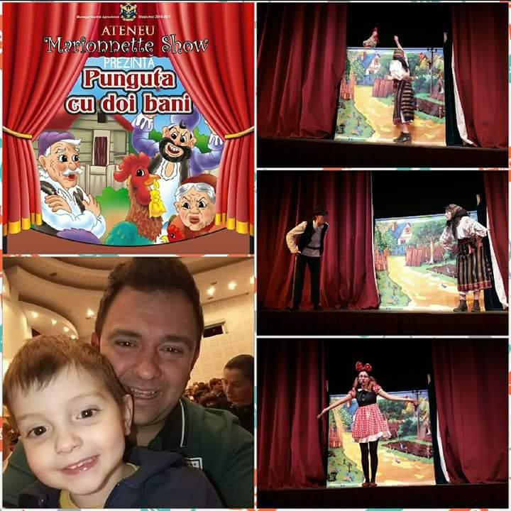 Marionnette show ateneu iasi
